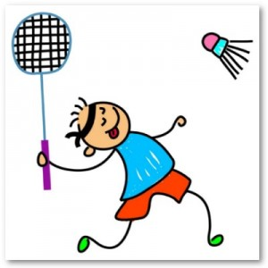 badminton-children