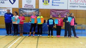 грамоти и медали за призовите места