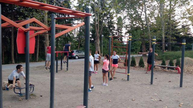 тренировки на открито за деца