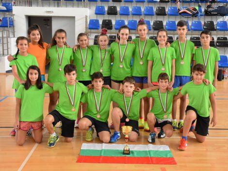 отборно състезание U13 бадминтон